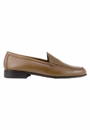 zapattu Baerchi - Zapatos Náuticos engrasado - Marrón, 41