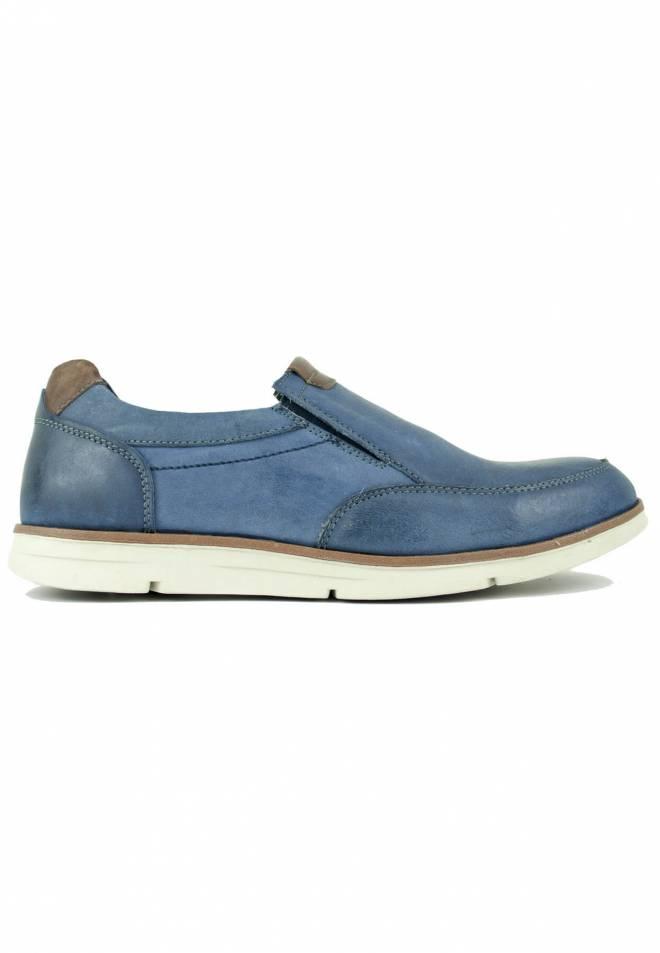 Vicmart - Primavera Zapato sin cordones Sport Azulón