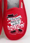 Biorelax By Zapattu - Zapatillas de Casa Mujer Y los Lunes ¡Nadie nos Quita lo Bailao!