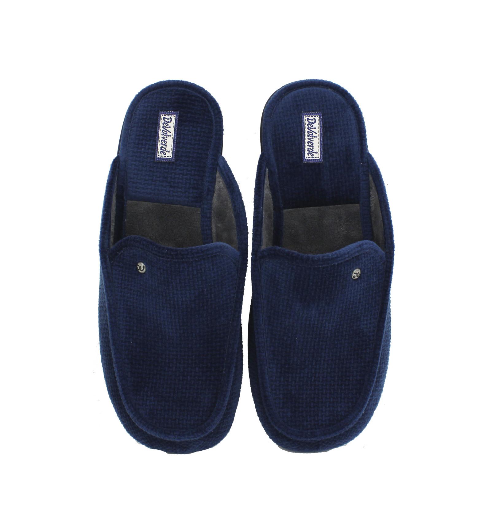 Zapatillas de casa abierta marino Devalverde - Envíos Gratis 9455b82c5f767