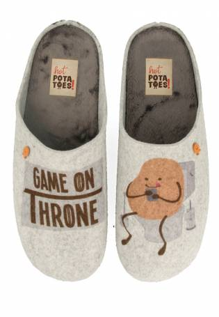 Hot Potatoes - Zapatillas de casa Game on Throne