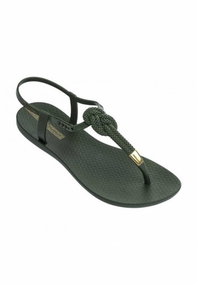 Ipanema - Sandalia verde con nudo class glam II fem