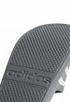 Adidas - Chancla gris Adilette Aqua