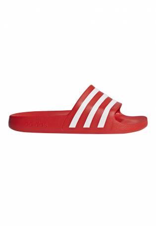 Adidas - Chancla Adilette Aqua en rojo