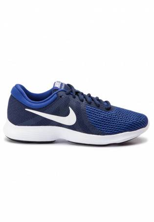 Nike - Zapatilla running azul revolution 4
