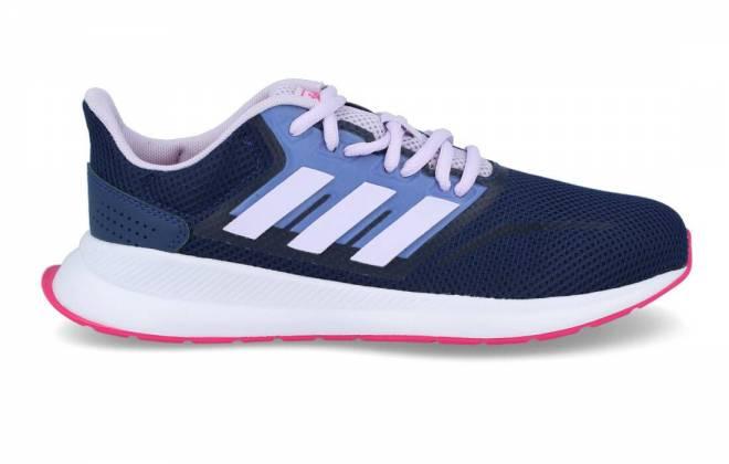 Adidas - Deportiva Running Mujer Runfalcon K Marino Malva