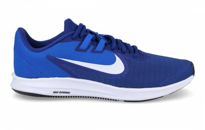 Nike - Zapatilla Fitness hombre Downshifter 9 Azul