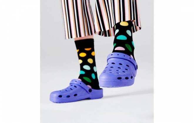 Calcetines Happy Socks para adulto lunares de colores
