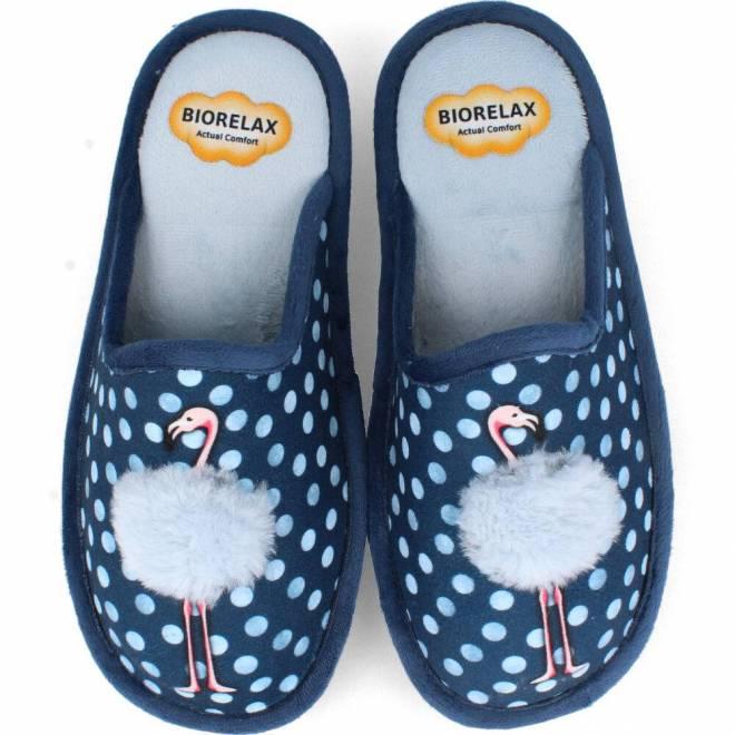 BioRelax - Zapatillas Mujer Flamenco Azul