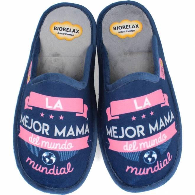 BioRelax - Zapatillas Mujer La mejor mamá del mundo