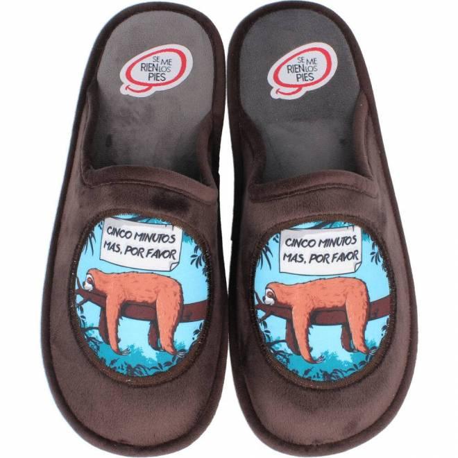 Se me ríen los pies - Zapatillas de Casa Perezoso