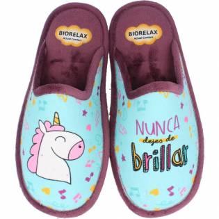 Zapatillas Biorelax Mujer Unicornio
