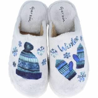 Garzón - Zapatillas de Casa Mujer Parquet Winter