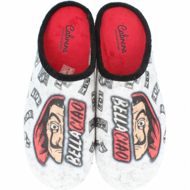 Cabrera - Zapatillas de Casa Hombre Bella Ciao