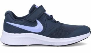 Nike - Deportiva para niñas en marino y lila star runner 2
