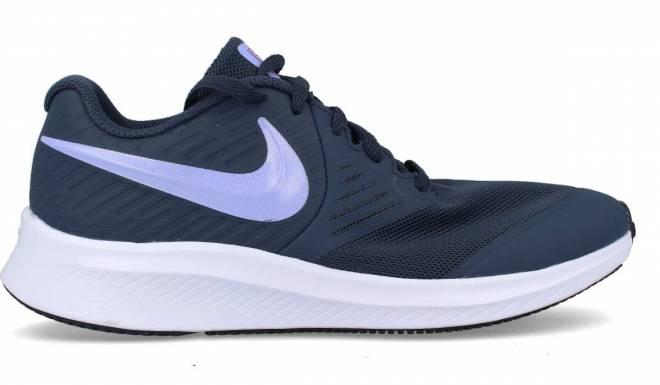 Nike - Deportiva Running Mujer Star Runner 2 Malva