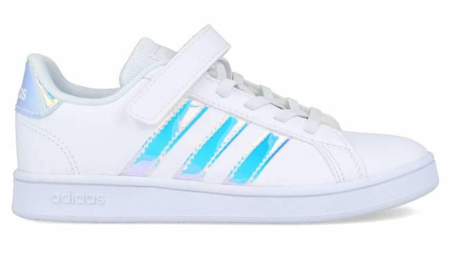Adidas - Zapatillas Running NIños Grand Court C Blancas
