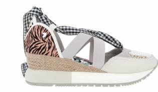 Gioseppo - Sneaker Cuña Animal Print Joliet