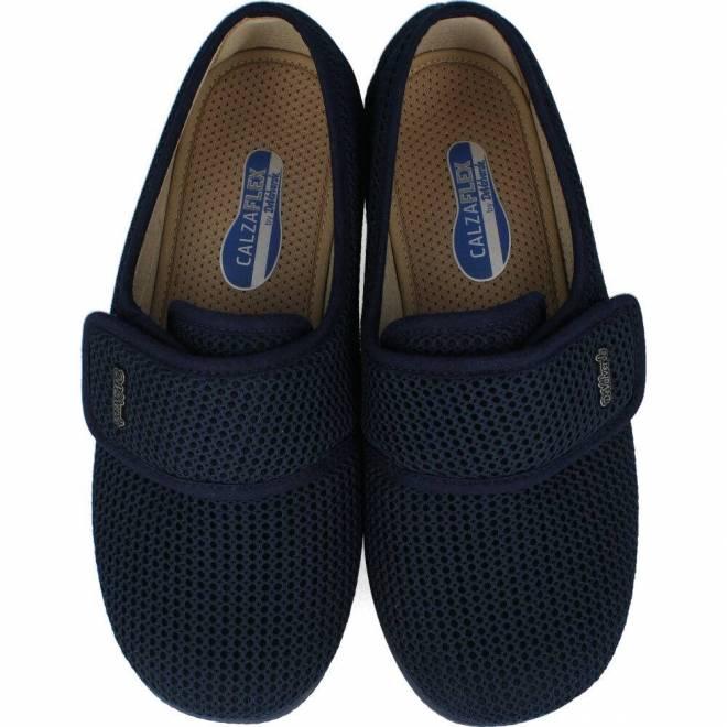 Devalverde - Zapatilla de Casa Cerrada Velcro M
