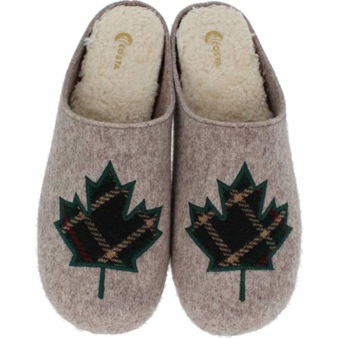 Costa - Zapatillas de Casa Hoja Canada