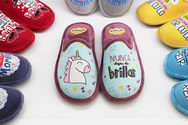 nuestra coleccion de zapatillas de casa