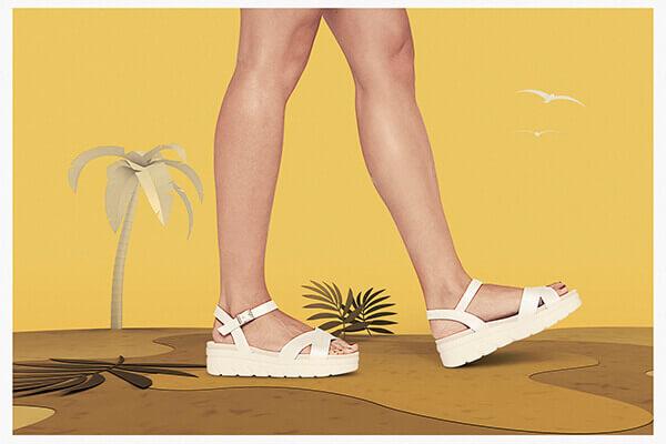 sandalias mujer de la marca pitillos