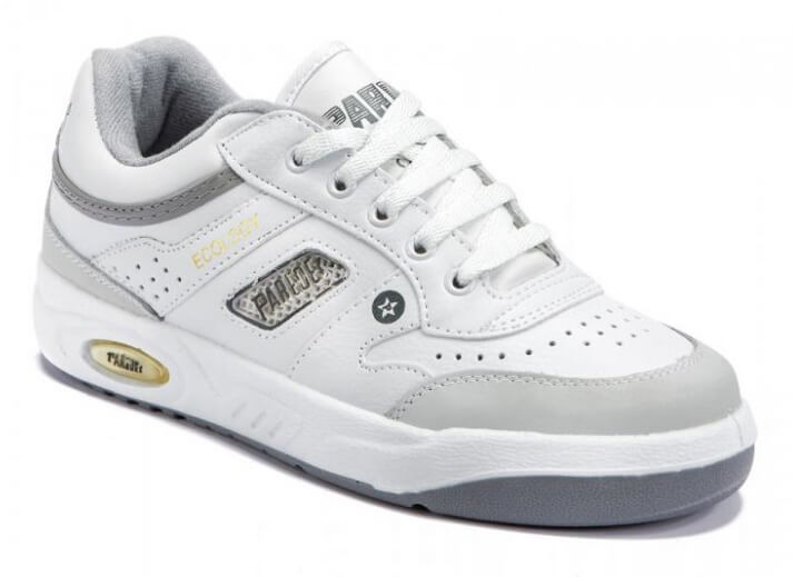 zapatillas paredes ecology en blanco