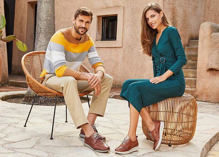 Zapatos fluchos para hombre y mujer